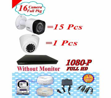 Dahua 16 CC Camera Pakage Without Monitor Pkgdah-119