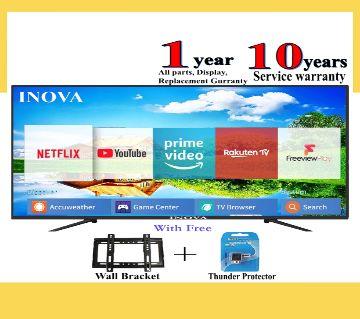 40 inch Inova Smile Android/ Smart HD LED TV - Black
