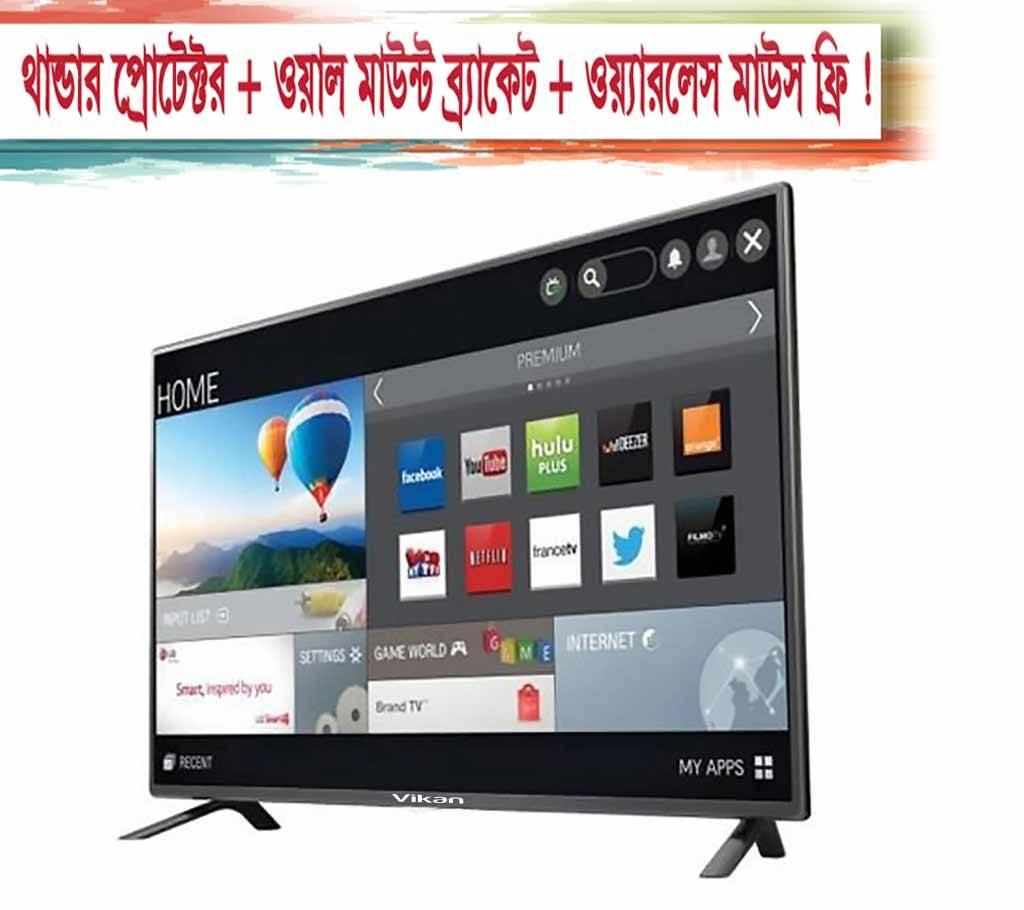 43'' vikan smart/wifi/android LED Television বাংলাদেশ - 671623