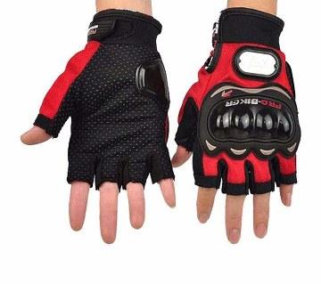 Pro Biker Hand Gloves half finger