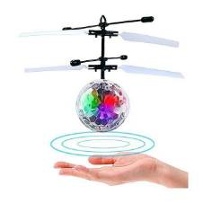Infrared Induction Flying Ball Toy Helicopter for Kids