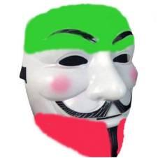 Vendetta মাস্ক- Multicolour