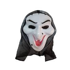 Scream Mask - White and Black