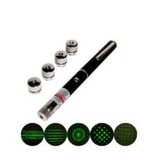 Rechargeable green laser pointer - Black