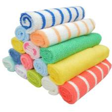 Gerber Newborn Baby Boy Towels Set - 16 pc - Multi-color