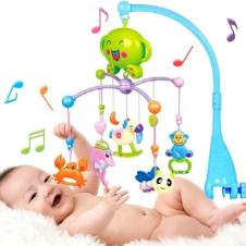 Kids Bed Bell with music - Multi-color
