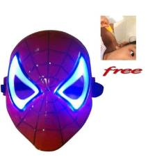 Spider Man Mask with free LED Ear Pick