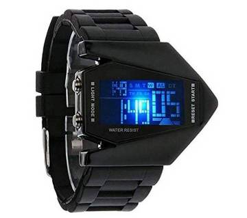 Black Dial digital LED watch