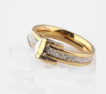 Golden Belt type Finger Ring