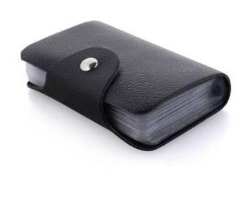 Card holder wallet for men