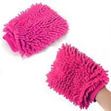 ক্লিনিং গ্লাভস Microfibre Wash and Dust Mitt - 5 Pcs