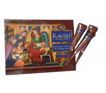 Kaveri Mehndi Cone - 3Pcs