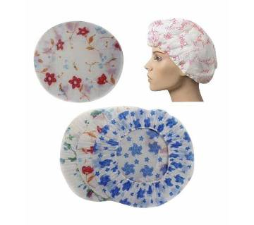 Pack of 3 Terry Lined Shower Makeup Cap