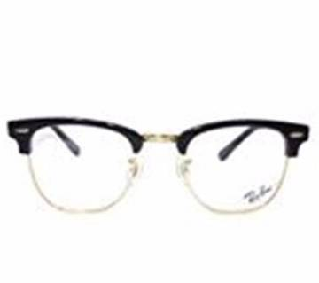 Club Master Golden & Black Frame