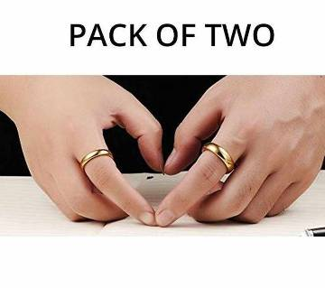 Combo for Couple Gold Plated Finger Ring