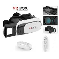 VR Box 2.0 Virtual Reality Glasses With Remote
