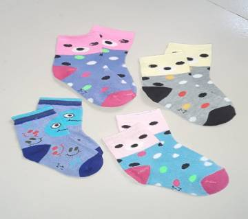 Cotton Socks for Baby - 4 Pair