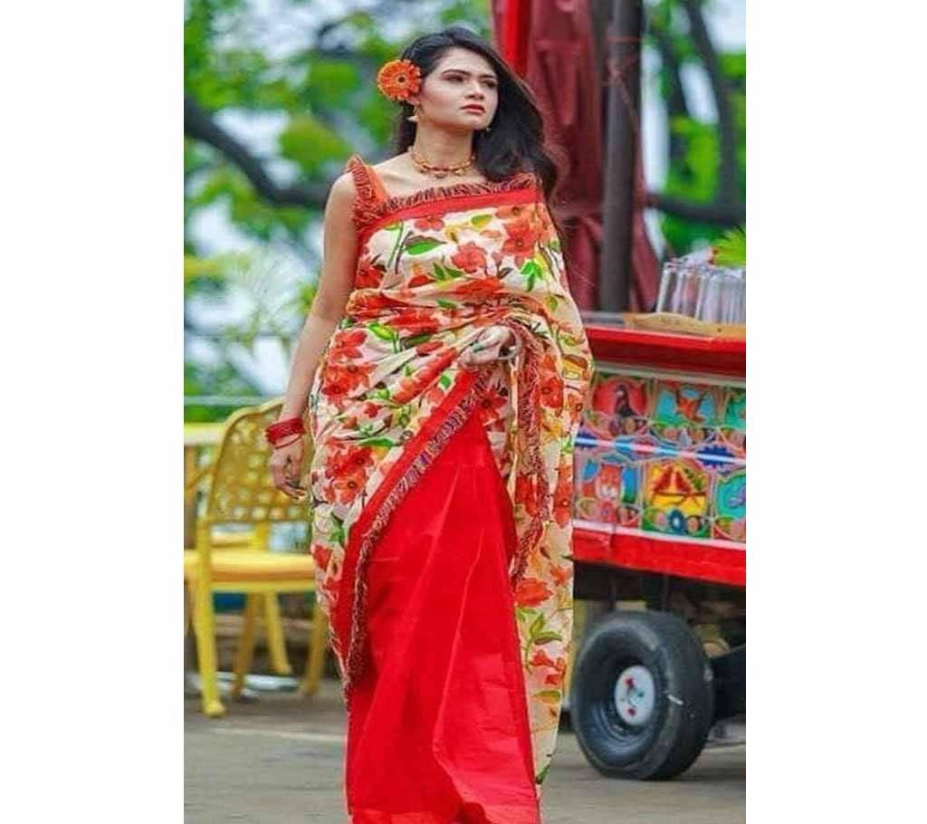 কটন কোটা বৈশাখী শাড়ী বাংলাদেশ - 953832