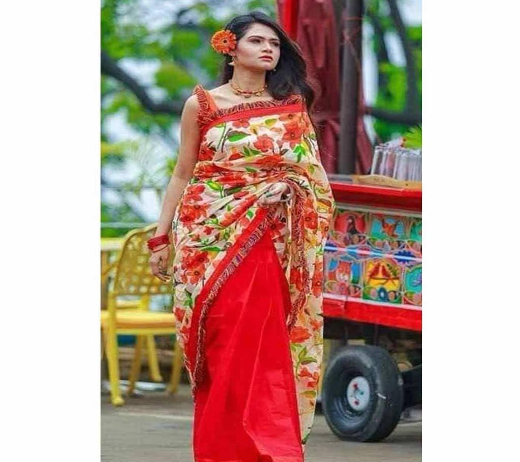 কটন কোটা বৈশাখী শাড়ী বাংলাদেশ - 953835