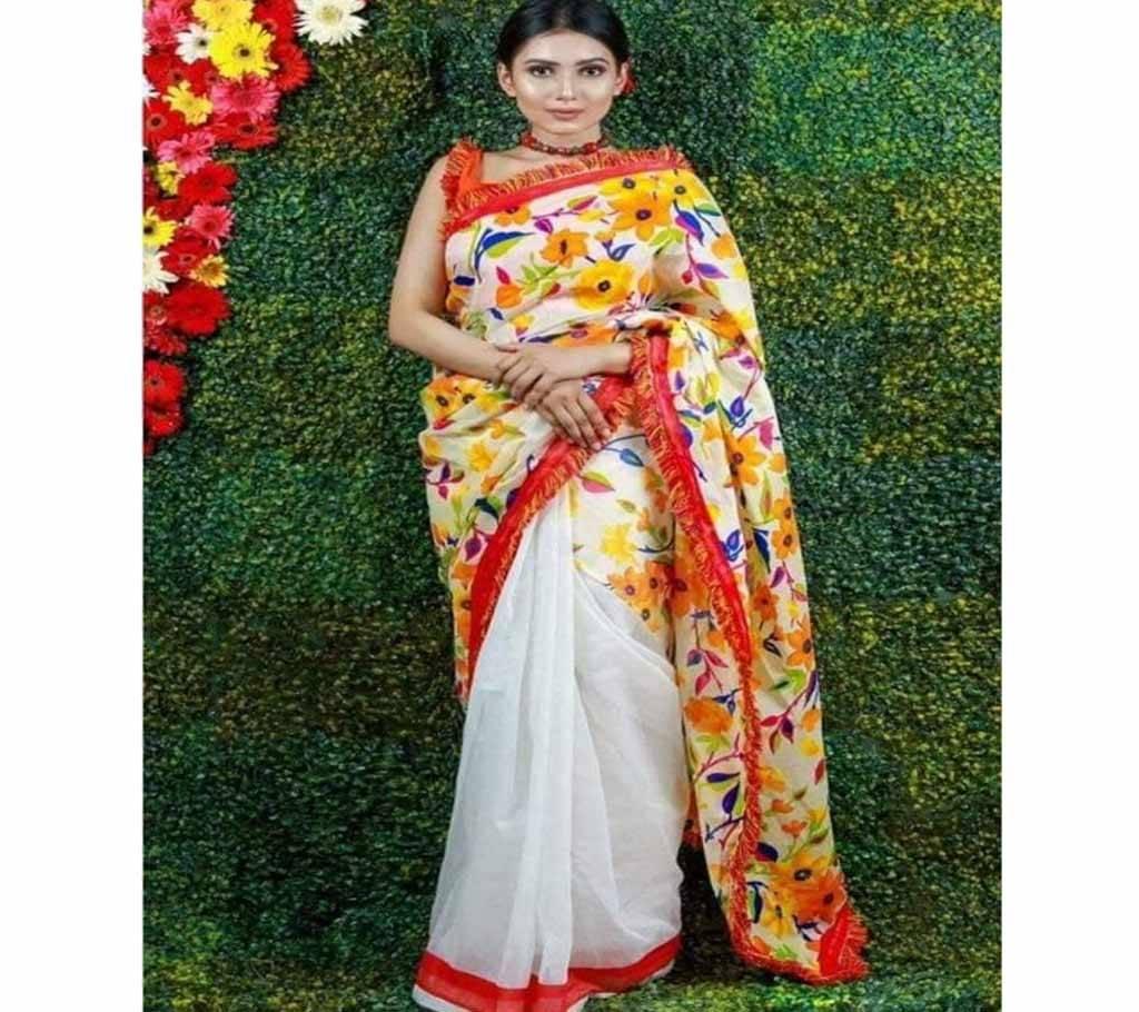 কটন কোটা বৈশাখী শাড়ী বাংলাদেশ - 953837