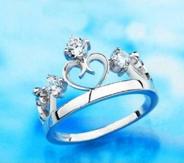 Stylish Crown Finger Ring
