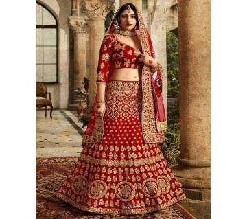 Unstitched Indian Embroidery Georgette Dress - Copy