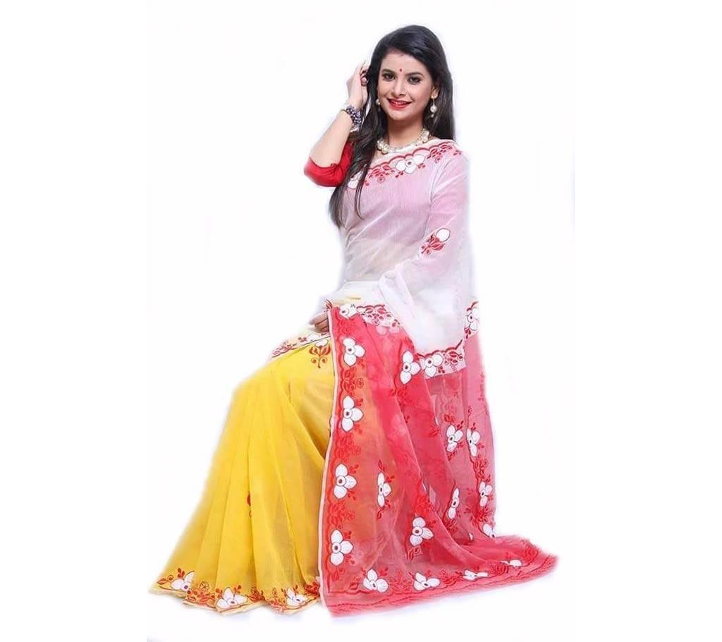 বৈশাখী কোটা কটন শাড়ি বাংলাদেশ - 439263