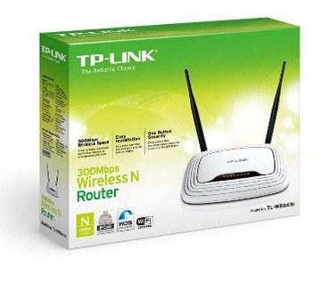 TP-LINK TL-WR841N router- 300Mbps