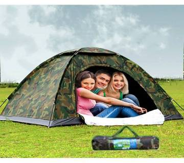 Camouflage Camping Tent for  3 Person