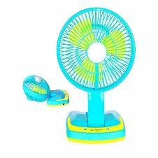 2 in 1 Portable Mini Fan With Light