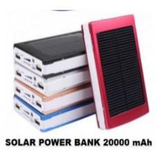 Solar Power Bank - 20000mAh