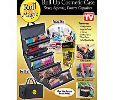 Roll Magic Roll Up Cosmetic Case