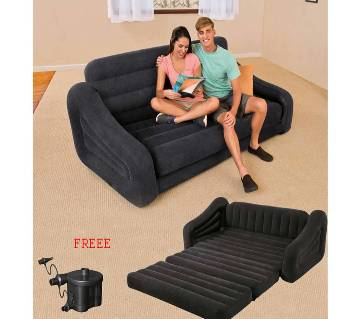 Intex Premium Pull-out Sofa Inflatable Bed (Queen Size)