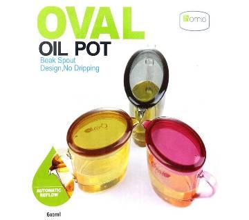 Lacucina Homio 600 ml Oval Oil Pot