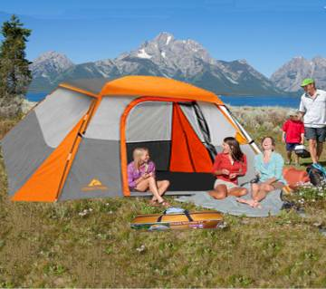 Ozark Trail 4 to 6 Person Dome Tent (100% weather proof)