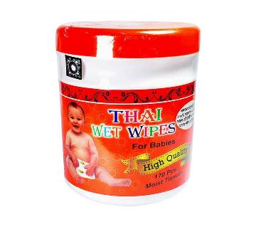 Thai Wet Wipes For baby - 170Pcs