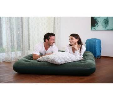 Bestway Comfort Quest Inflatable Bed with Free Pump (Queen Size)