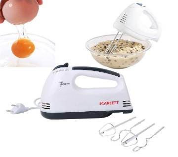 Electric Hand Mixer Whisk Egg Beater Cake Baking 7 Speed