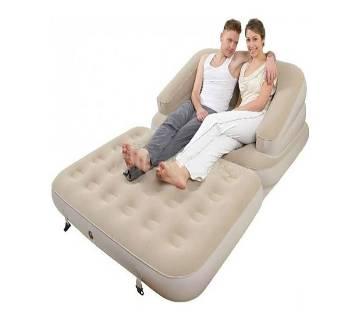 Convertible lounge queen air bed mattress - Double