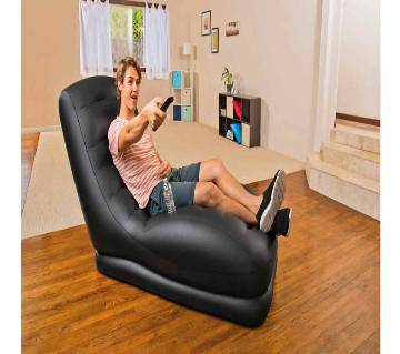 Intex Air Inflate Sofa with Built-In Cup Holder