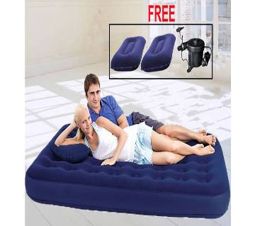 Best way Comfort Quest Air Bed with Pump and Pillow