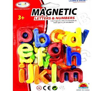 Magnetic Capital Letter Alphabets Numbers