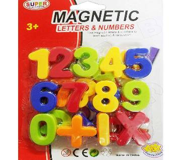 MAGNETIC NUMBER LEARNING TOY