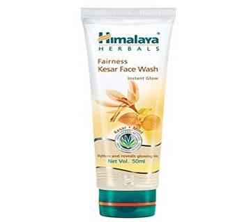Himalaya Herbals Fairness Kesar Face Wash 100ml - India
