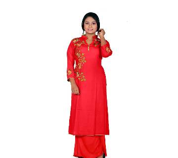 Stitched Ladies Linen Long Kurti