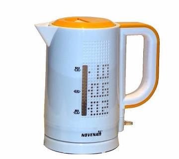 Novena White & Orange Kettle (NK-65P)