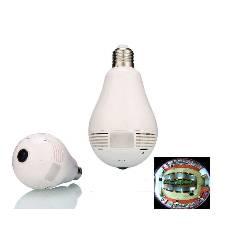 Panaromic Bulb IP Camera