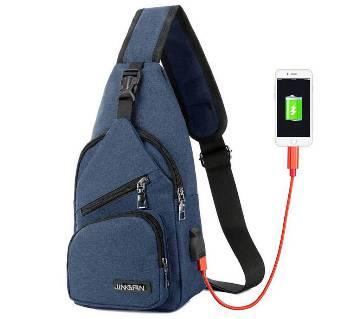 Anti Theft USB Charging Crossbody Bags
