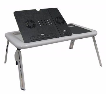 E-Laptop Table with Cooler