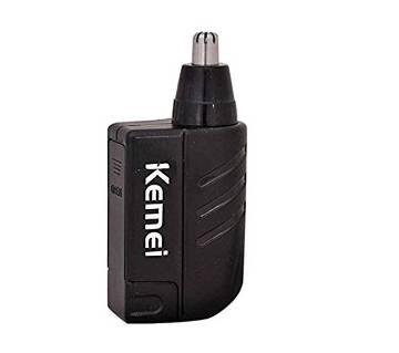 Kemei km-021 Cordless Trimmer for Men  (Black)